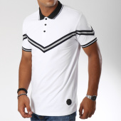 /achat-polos-manches-courtes/project-x-polo-manches-courtes-avec-bande-88181155-blanc-149621.html