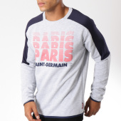 /achat-sweats-col-rond-crewneck/psg-sweat-crewneck-paris-saint-germain-gris-chine-149457.html