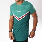/achat-t-shirts-longs-oversize/sixth-june-tee-shirt-oversize-avec-bandes-m3556cja-vert-149488.html