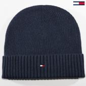 /achat-bonnets/tommy-hilfiger-jeans-bonnet-pima-cotton-cashmere-3983-bleu-marine-149645.html