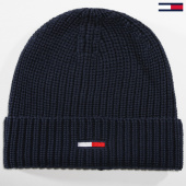 /achat-bonnets/tommy-hilfiger-jeans-bonnet-basic-rib-300-bleu-marine-149666.html