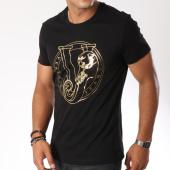 /achat-t-shirts/versace-jeans-tee-shirt-print-round-foil-noir-149651.html