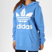 /achat-sweats-capuche/adidas-sweat-capuche-femme-trefoil-bleu-149759.html