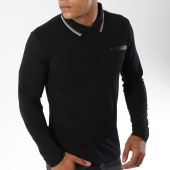 /achat-polos-manches-longues/american-people-polo-manches-longues-titus-noir-149749.html