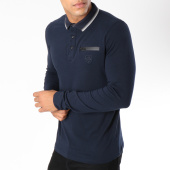 /achat-polos-manches-longues/american-people-polo-manches-longues-titus-bleu-marine-149750.html