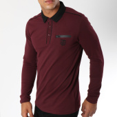 /achat-polos-manches-longues/american-people-polo-manches-longues-tippi-bordeaux-149775.html