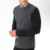 /achat-polos-manches-longues/american-people-polo-manches-longues-turner-gris-anthracite-noir-149782.html