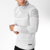 /achat-pulls/american-people-pull-col-amplified-tango-blanc-gris-149792.html