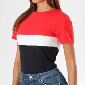 https://www.laboutiqueofficielle.com/achat-t-shirts/tee-shirt-femme-w3586cts-bleu-marine-blanc-rouge-149728.html