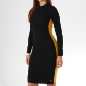 /achat-robes/sixth-june-parisiennes-robe-manches-longues-femme-avec-bandes-w3590vdr-noir-149732.html