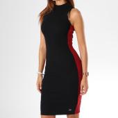 /achat-robes/sixth-june-parisiennes-robe-femme-avec-bandes-w3589vdr-noir-149733.html