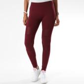 /achat-leggings/urban-classics-legging-femme-tb1174-bordeaux-149795.html