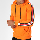 /achat-sweats-capuche/zayne-paris-sweat-capuche-avec-bandes-brodees-tx-144-orange-149689.html