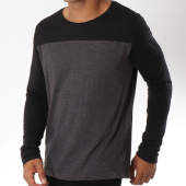 /achat-t-shirts-manches-longues/brave-soul-tee-shirt-manches-longues-brosna-gris-anthracite-noir-149845.html