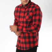 /achat-chemises-manches-longues/brave-soul-chemise-manches-longues-jackf-rouge-noir-149937.html