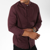 /achat-chemises-manches-longues/only-and-sons-chemise-manches-longues-sotto-bordeaux-150006.html