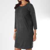 /achat-robes/vero-moda-robe-pull-femme-glory-gris-anthracite-chine-149970.html