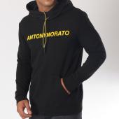 /achat-sweats-capuche/antony-morato-sweat-capuche-mmfl00435-noir-jaune-150048.html