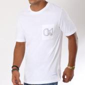 /achat-t-shirts-poche/calvin-klein-tee-shirt-poche-9612-blanc-150069.html