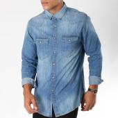 /achat-chemises-manches-longues/celio-chemise-manches-longues-en-jean-masun-bleu-denim-150239.html