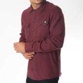 /achat-chemises-manches-longues/dickies-chemise-manches-longues-glenville-bordeaux-150133.html