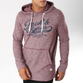 /achat-sweats-capuche/jack-and-jones-sweat-capuche-panther-bordeaux-chine-150074.html