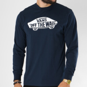 /achat-t-shirts-manches-longues/vans-tee-shirt-manches-longues-otw-bleu-marine-150156.html