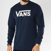 /achat-t-shirts-manches-longues/vans-tee-shirt-manches-longues-classic-bleu-marine-150167.html