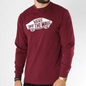 /achat-t-shirts-manches-longues/vans-tee-shirt-manches-longues-otw-bordeaux-150174.html