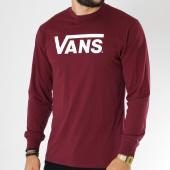 /achat-t-shirts-manches-longues/vans-tee-shirt-manches-longues-classic-bordeaux-150200.html