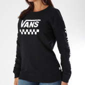 /achat-sweats-col-rond-crewneck/vans-sweat-crewneck-femme-too-much-fun-a3pbf-noir-blanc-150218.html