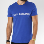/achat-t-shirts/calvin-klein-tee-shirt-institutional-slim-7856-bleu-roi-150311.html