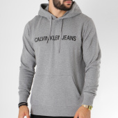 /achat-sweats-capuche/calvin-klein-sweat-capuche-institutional-9528-gris-chine-150313.html