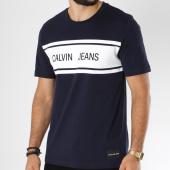/achat-t-shirts/calvin-klein-tee-shirt-calvin-jeans-stripe-9614-bleu-marine-150316.html
