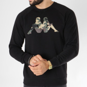 /achat-sweats-col-rond-crewneck/kappa-sweat-crewneck-authentic-oiano-303g6s0-noir-150369.html