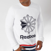 /achat-sweats-col-rond-crewneck/reebok-sweat-crewneck-classic-logo-blanc-150386.html