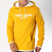 /achat-sweats-capuche/teddy-smith-sweat-capuche-siclass-moutarde-150377.html