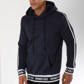 /achat-sweats-capuche/terance-kole-sweat-capuche-avec-bandes-98151-bleu-marine-150423.html