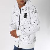 /achat-sweats-zippes-capuche/terance-kole-sweat-zippe-capuche-avec-patch-brode-98154-blanc-150425.html
