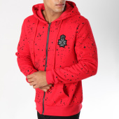 /achat-sweats-zippes-capuche/terance-kole-sweat-zippe-capuche-avec-patch-brode-98154-rouge-150427.html