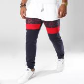 /achat-pantalons-joggings/terance-kole-pantalon-jogging-88017-bleu-marine-blanc-rouge-150430.html