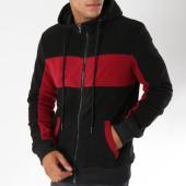 /achat-sweats-zippes-capuche/terance-kole-sweat-zippe-capuche-98167-noir-bordeaux-150433.html