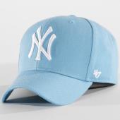 /achat-casquettes-de-baseball/47-brand-casquette-mvp-mlb-new-york-yankees-bleu-clair-150489.html