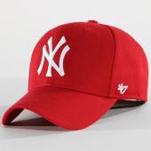 /achat-casquettes-de-baseball/47-brand-casquette-mvp-mlb-new-york-yankees-rouge-150490.html