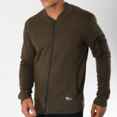 /achat-sweats-pulls/mz72-sweat-zippe-avec-poche-bomber-jarful-vert-kaki-chine-150591.html