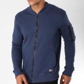 /achat-sweats-pulls/mz72-sweat-zippe-avec-poche-bomber-jarful-bleu-chine-150595.html