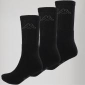 /achat-chaussettes/kappa-lot-de-3-paires-de-chaussettes-304jlf0-noir-150465.html