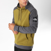 /achat-sweats-capuche/the-north-face-sweat-capuche-fine-box-vert-kaki-gris-150507.html