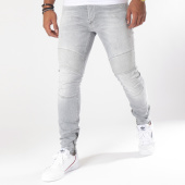 /achat-jeans/le-temps-des-cerises-jean-slim-915-maw-gris-150755.html