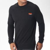 /achat-pulls/superdry-pull-orange-label-m61001gr-noir-chine-150705.html